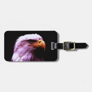Eagle calvo etiquetas maletas