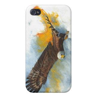Eagle calvo iPhone 4/4S funda