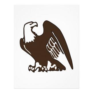 Eagle calvo membrete