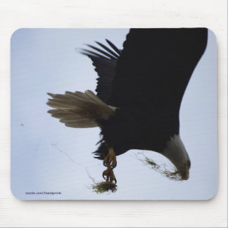 Eagle calvo Mousepad Alfombrilla De Ratones