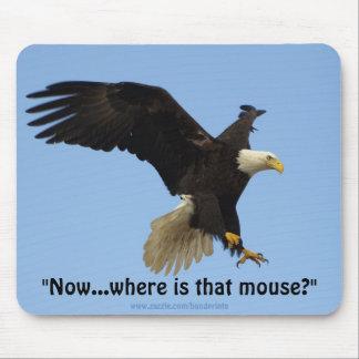 Eagle calvo Mousepad Alfombrillas De Ratones
