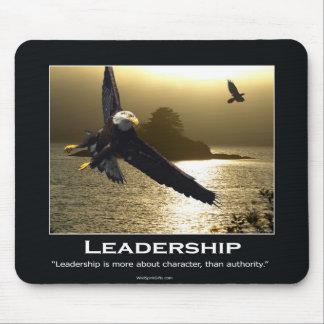 Eagle calvo Mousepad de motivación Alfombrillas De Raton