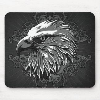 Eagle calvo Mousepad