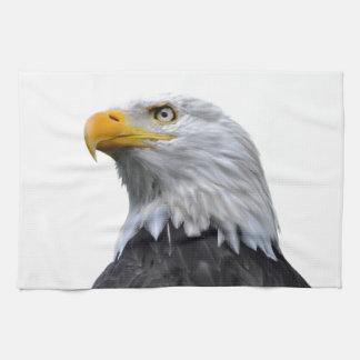 Eagle calvo toallas de cocina