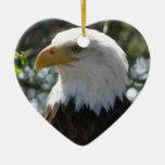 Eagle calvo - pájaro nacional de los Estados Unido Ornaments Para Arbol De Navidad
