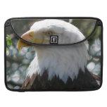 Eagle calvo - pájaro nacional de los Estados Unido Funda Macbook Pro