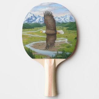 Eagle calvo pala de ping pong
