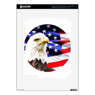 Eagle calvo pegatinas skins para iPad 3