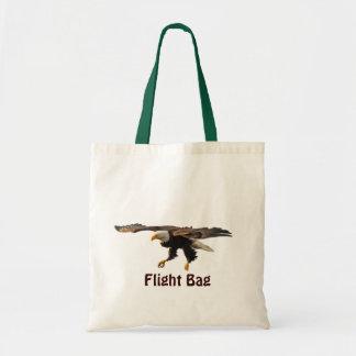 EAGLE CALVO que aterriza la bolsa de asas del