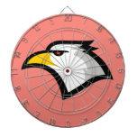 Eagle calvo rosado coralino tablero de dardos