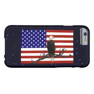 Eagle calvo siempre vigilante funda para iPhone 6 barely there
