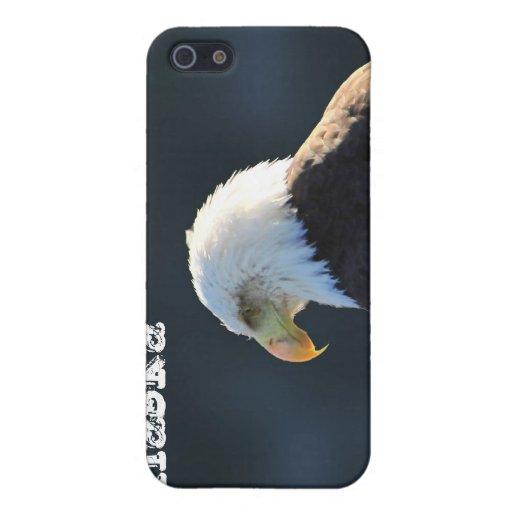 Eagle calvo solitario; Alaska iPhone 5 Protector