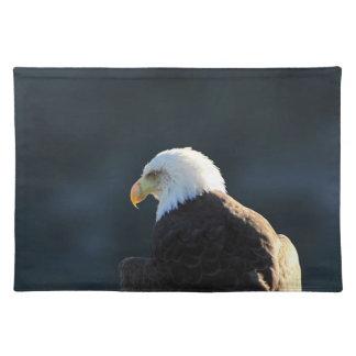 Eagle calvo solitario; Ningún saludo Manteles Individuales