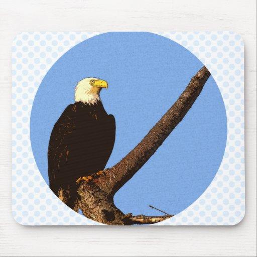 Eagle calvo tapetes de ratones