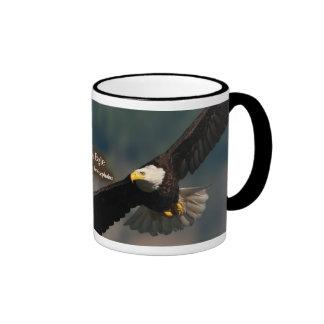 Eagle calvo taza