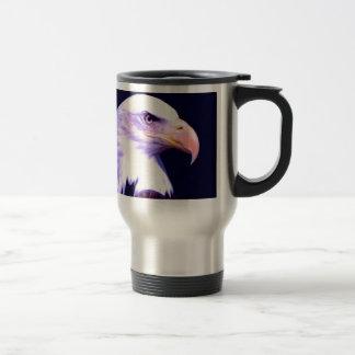 Eagle calvo taza de café
