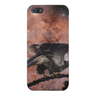 Eagle calvo y caso estrellado del iPhone de la iPhone 5 Fundas