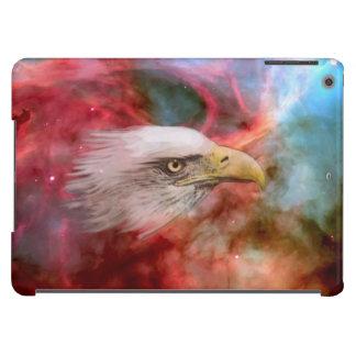 Eagle calvo y espacio exterior carcasa iPad air