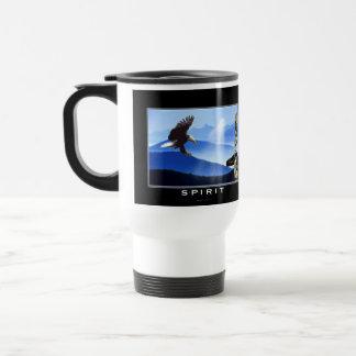 Eagle calvo y taza del viaje del regalo del tótem