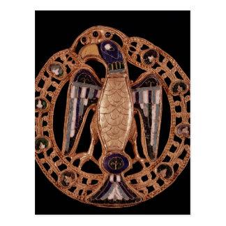 Eagle clasp from Gisela, Wife of Emperor Conrad Postcard