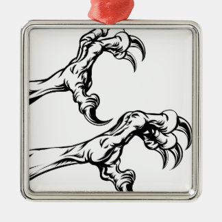 Eagle claws ornament