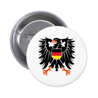 Eagle coat of arms Germany Eagle crest Germany Button