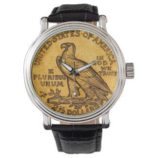 Eagle Coin Wrist Watch
