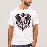 Eagle con la flor de lis playera