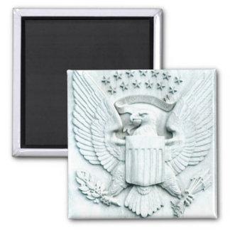 Eagle con las estrellas - Washington D C Imán De Frigorífico