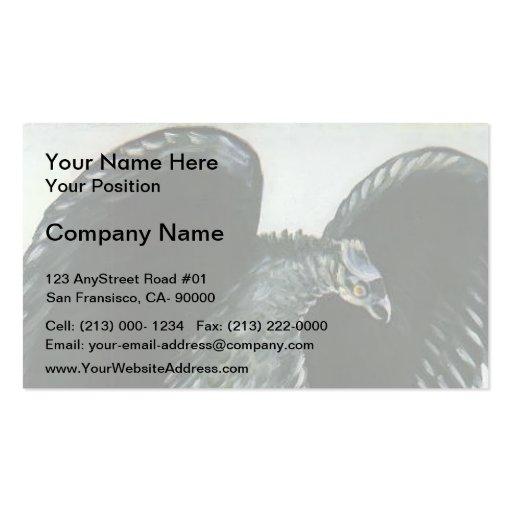 Eagle con las liebres de Niko Pirosmani Plantillas De Tarjetas Personales