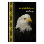 Eagle - Congratulations - Achievement - other use Greeting Card