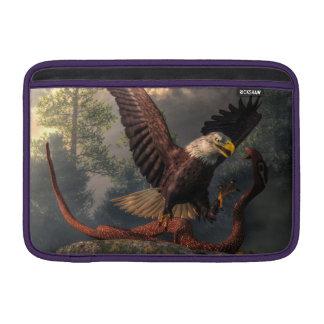 Eagle contra cobra fundas para macbook air