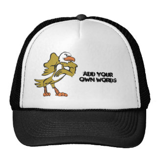 eagle copy, Add your own words Trucker Hat