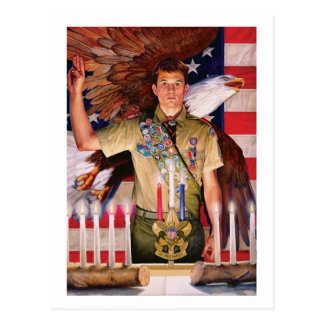 Eagle Court of Honor Post Card