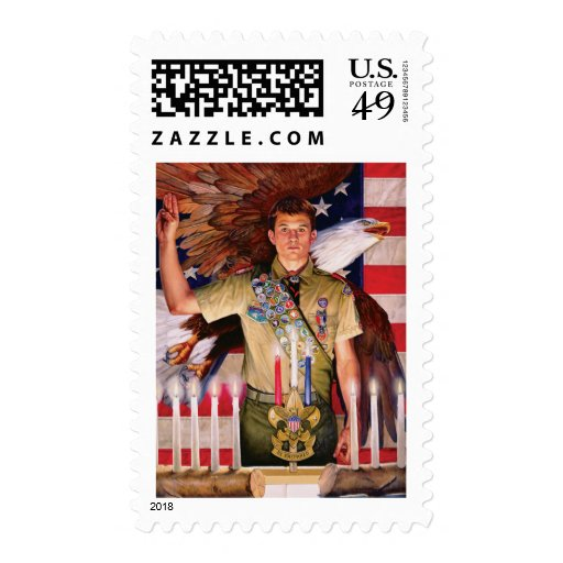 Eagle Court of Honor Postage Stamps