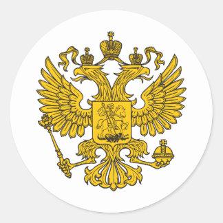 eagle crest classic round sticker