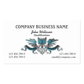 Eagle crest professional masculine PERSONALIZE Double-Sided Standard Business Cards (Pack Of 100)
