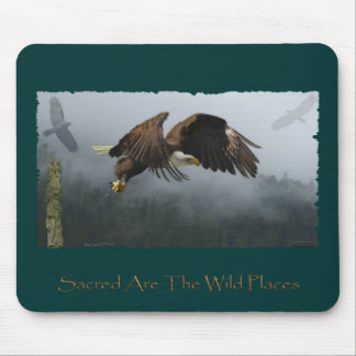 EAGLE, CROW, TOTEM POLE & MISTY FOREST Gifts Mouse Pads