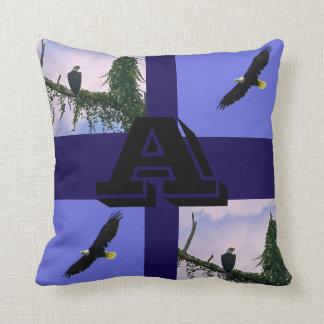 Eagle custom throw pillow