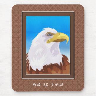 Eagle - Customizable - Achievement - Congrats Mouse Pad