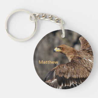 Eagle - Customizable - Achievement - Recognition Keychain