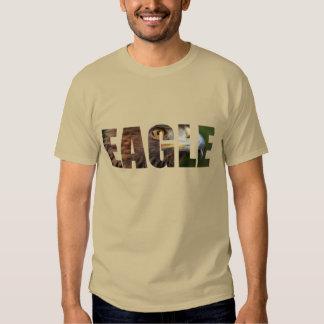 Eagle cutout tshirt