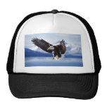 Eagle de Alaska en vuelo Gorras