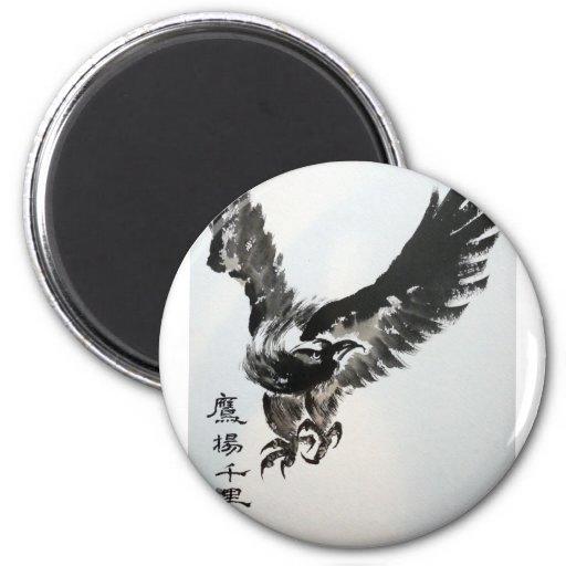 Eagle de elevación imán redondo 5 cm
