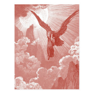 Eagle de Gustavo Dore Postales
