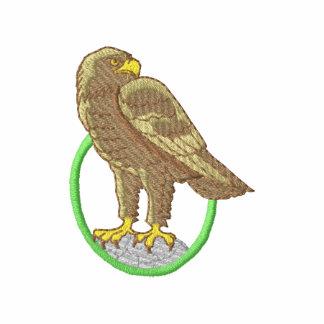 Eagle de oro sudadera bordada