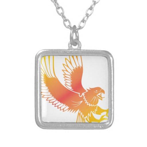 Eagle de oro colgante personalizado