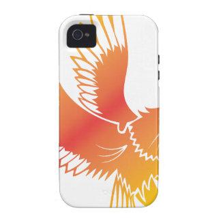 Eagle de oro iPhone 4 carcasa