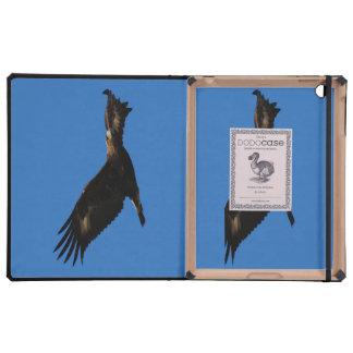 Eagle de oro iPad cárcasa