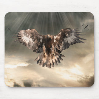Eagle de oro tapetes de ratones